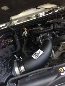 AFE Airintake and throttle body
