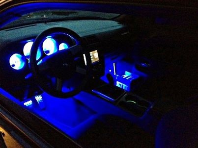 Challenger Led Interior Lighting Automotive Sound And